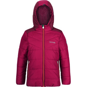 Regatta Lofthouse IV Quilted Jacket Kids dark cerise/beetroot